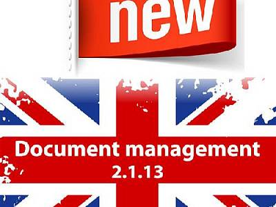 Новая версия 1С:Document management