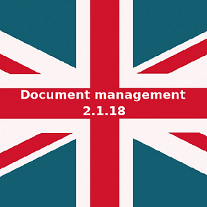 Новая версия 1С:Документооборот и 1С:Document Management 2.1.18. Что нового?